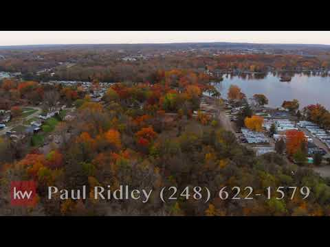 Some Drone Footage From Fenton, MI Lake Ponemah