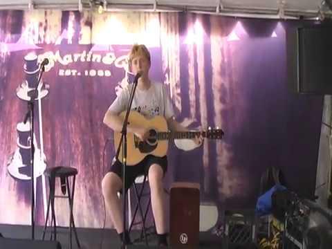 Rhys  sings