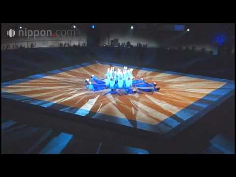 Le club Gymnastique rythmique masculine de l'Université d'Aomori !   nippon.com