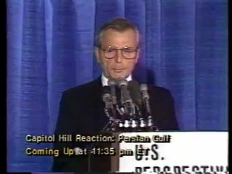 Why Oil Influences World Politics: American Stock Exchange - Frank Carlucci (1987)