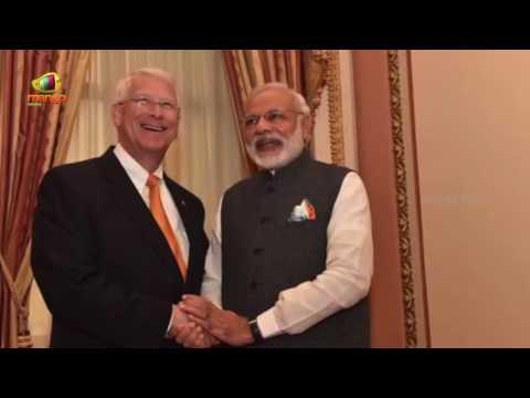 PM Narendra Modi With US Senators During His Visit To Washington DC | America | Mango News