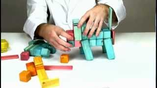 Building A Baboon Out Of These European Inspired Wooden Toys From Tegu