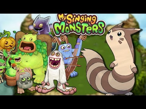 Furret walk around My Singing Monsters