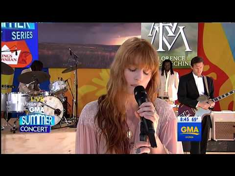 Sky Full Of Song - Florence + The Machine GMA - LIVE on GMA 29/6/2018
