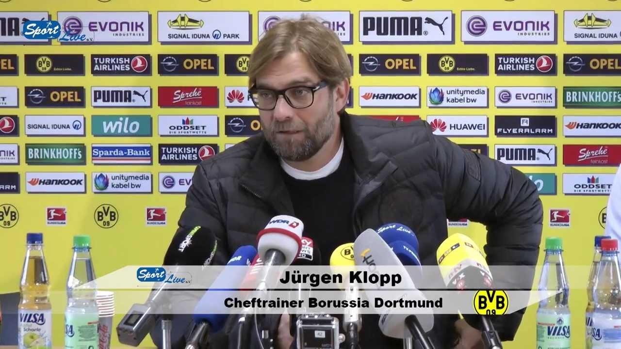BVB Pressekonferenz vom 10. Februar 2014 vor dem DFB Pokal Viertelfinale Eintracht Frankfurt gegen Borussia Dortmund