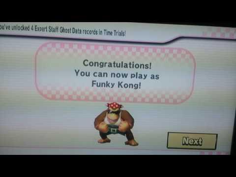 Funky Kong upplåst