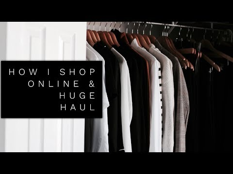 How I Shop Online & Huge A/W Haul