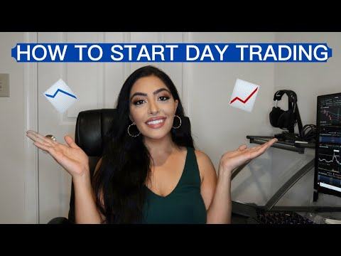 HOW TO START DAY TRADING AS A BEGINNER!