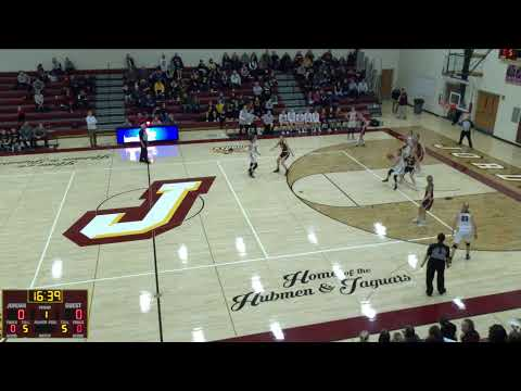 Jordan High School vs. New Ulm High School Varsity Mens' Basketball
