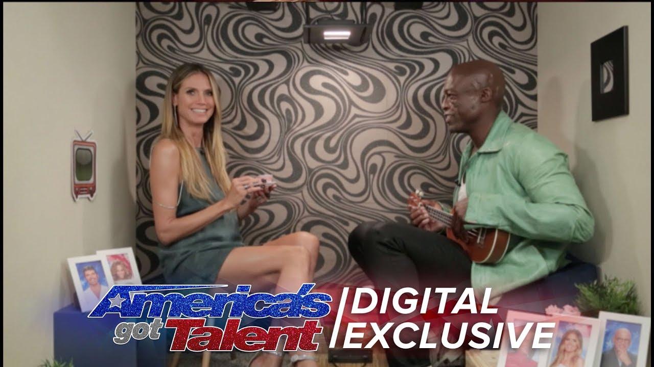 Americas got talent 2017 singing - Seal And Heidi Klum Sing A Golden Buzzer Duet America S Got Talent 2017 Extra