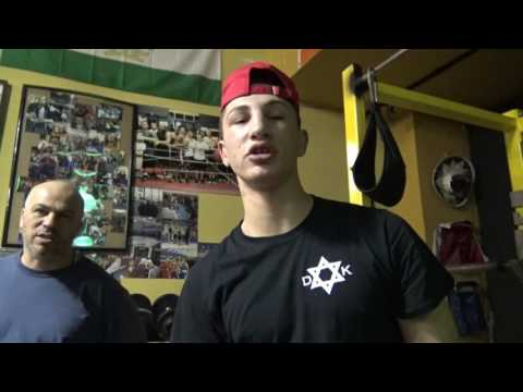 jewish boxing star david kaminsky 8 time national champ fights in 145 155 165 EsNews Boxing