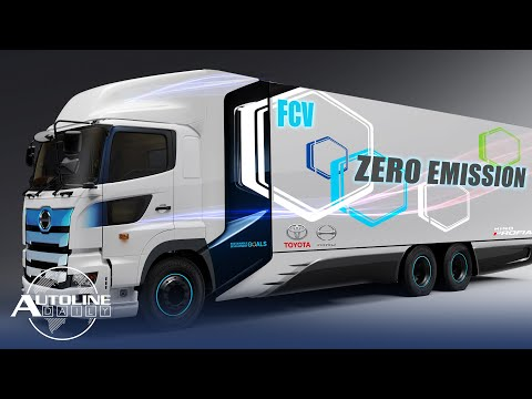 Toyota & Hino Making Fuel Cell Trucks; OEMs Help Build Health Equipment - Autoline Daily 2799