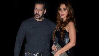 Salman Khan With Iulia Vantur At Arbaaz Khan's Birthday Party 2017