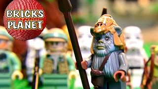 All 17 Minifigs From Ewok Village 10236 LEGO Star Wars - HD Stop Motion Review