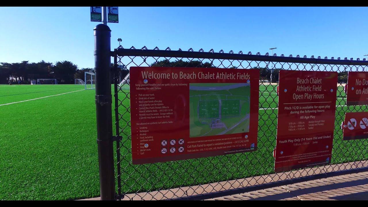 Beach Chalet Athletic Fields At Golden Gate Park San Francisco Part 2