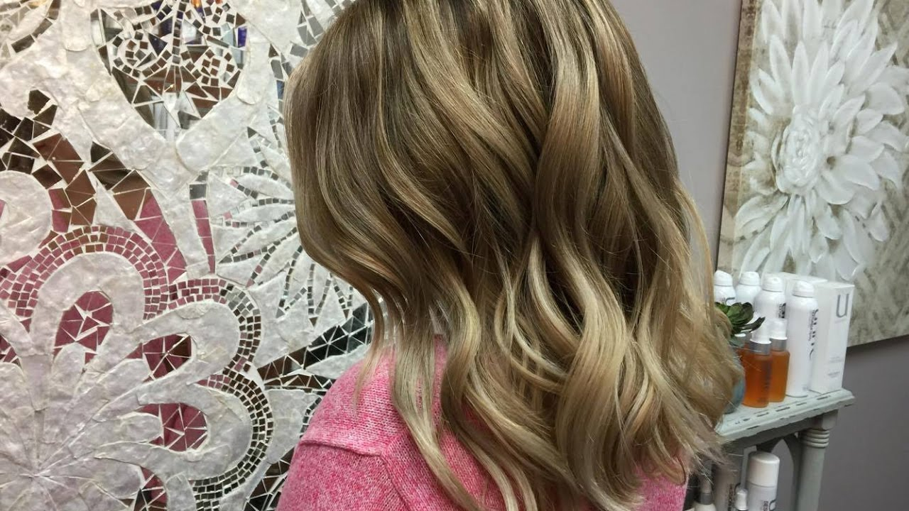 Babylights And Balayage With A Shadow Root Going Blonde