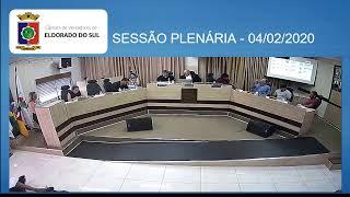 SESSÃO PLENÁRIA - 04/02/2020