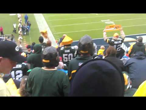 Green Bay Packers Vs San Diego Chargers 2011 Go Pack Go