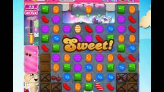 Candy Crush Saga Level 1410 (** No Booster)