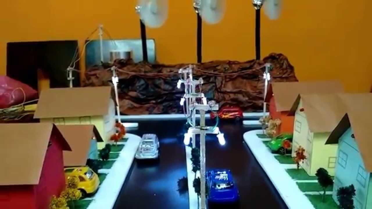 Maqueta proyecto escolar energia eolica youtube for Proyecto de cafeteria escolar
