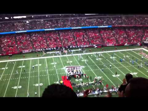 Deion Sanders at Falcons game 10/16/11