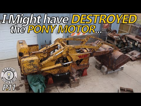 """A DEMORALIZING Turn in the Restoration of """"Old Red""""  ~ 1950s Caterpillar TraxCavator ~ Part 11"""