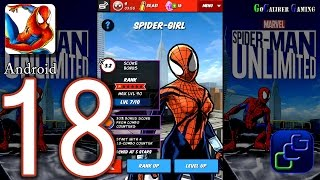 Spider Man Unlimited Android Walkthrough - Part 18 - Spider-Girl Unlimited Run Completed