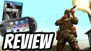 Call of Duty: Black Ops: Declassified REVIEW (PS VITA) HD Gameplay