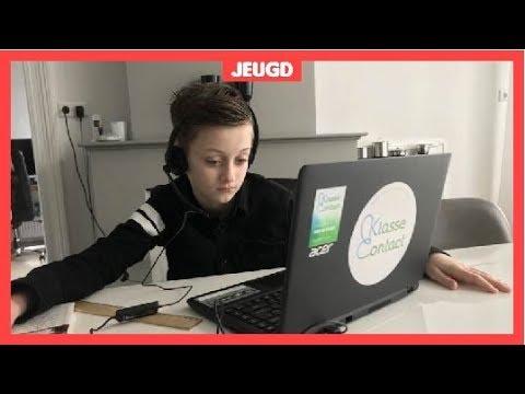Zieke Roemer (10) is dankzij robot altijd op school