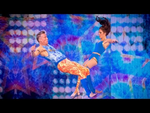 Peter Duncan's Trampoline Performance to 'Jump Around' - Tumble: Series 1 Episode 3 - BBC One