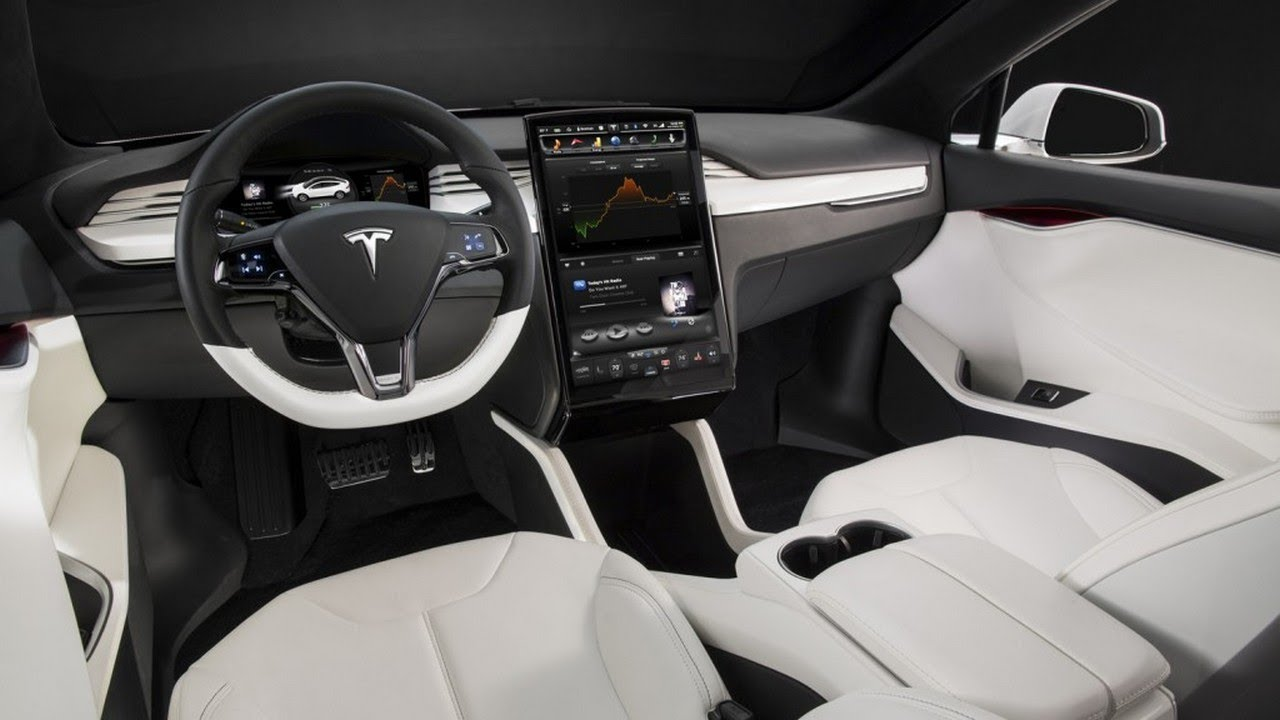 2018 Tesla Model X Interior Overview Amazing