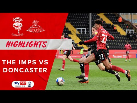 Lincoln Doncaster Goals And Highlights