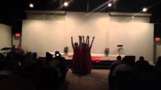 "Ruach Dance Ministry ""His Blood Still Works"""
