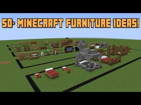 50+ Minecraft Furniture ideas!