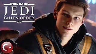 Star Wars Jedi  Fallen Order - Resmi Hikaye İlk Gösterim Fragmanı (Türkçe Altyazılı)