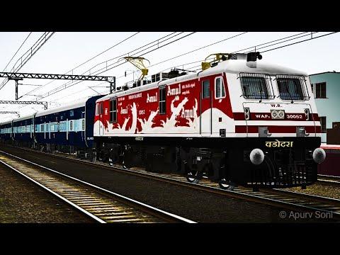 Indian Railways 22944 Indore Pune Express faces Mega Block Near Dahod and Full Journey Compilation 2