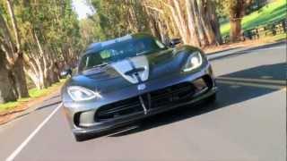Dodge Viper Sound Video. Driving SRT Viper