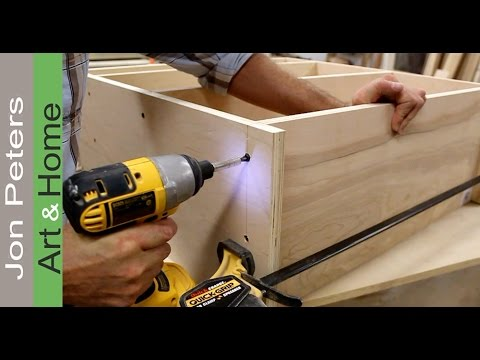 office wood. How To Make A Desk For An Office / Art Studio Part 3 By Jon Peters Wood