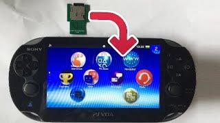 Sd2vita : Comment mettre une carte SD dans une PS VITA le tuto !