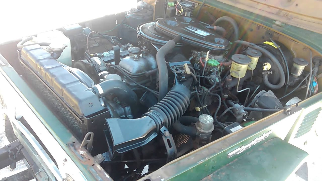 1978 Toyota Land Cruiser Fj40    2f Engine