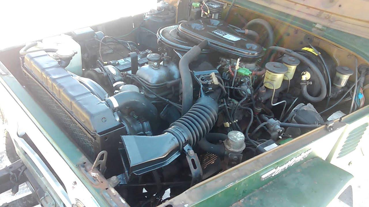 1978 toyota land cruiser fj40    2f engine
