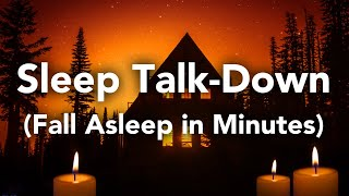 Fall Asleep In MINUTES! Slęep Talk-Down Guided Meditation Hypnosis for Sleeping
