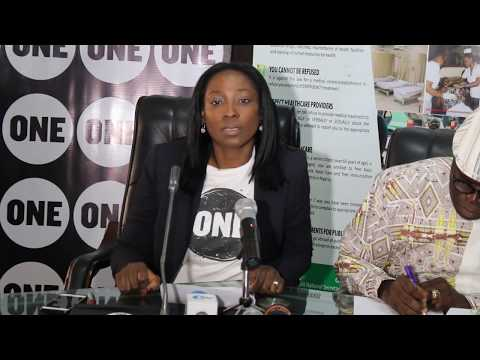 Submission of the Country Rep of One Campaign Organization at the UHC Day Press conference 2017