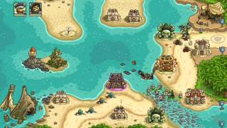 Kingdom Rush Frontiers Walkthrough Level 17 Storm Atoll [Normal] [3 Stars]