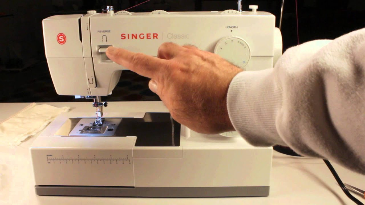 Singer Classic Heavy Duty Extended Beginners Tutorial Youtube Thread A Sewing Machine Diagram Labeled Premium
