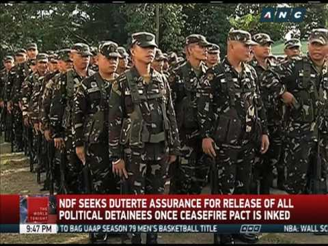 Jalandoni: NDF willing to sign bilateral ceasefire agreement