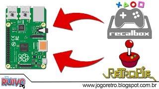 Raspberry Pi - Como Instalar Recalbox ou RetroPie no Micro SD (Imagens Completas) TODOS OS FORMATOS