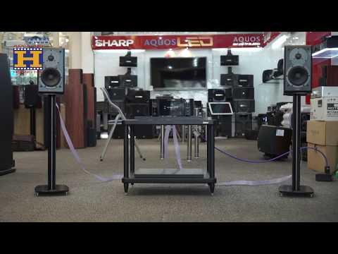 [Audio Hoàng Hải] Combo âm thanh nghe nhạc loa Dynaudio DM 2/6 và Marantz CD Receiver M-CR611