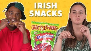 We Tried Irish Snacks 🇮🇪☘ TASTE TEST