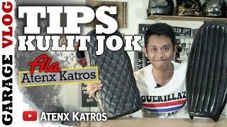 Tips Kulit Jok Motor Custom [Garage Vlog]